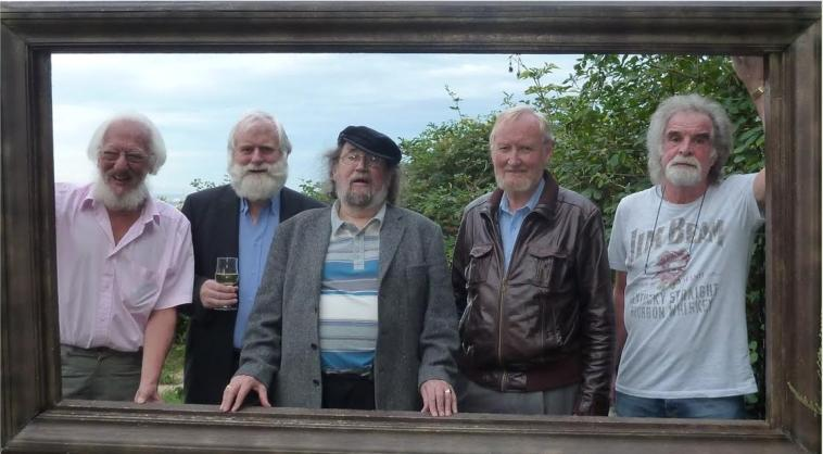 The Dubliners framed. Vienna 2011