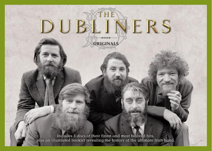 The Dubliners Original line up. 3 CDs inclusive biography Label: Delta